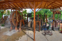 olive oil watermill thassos